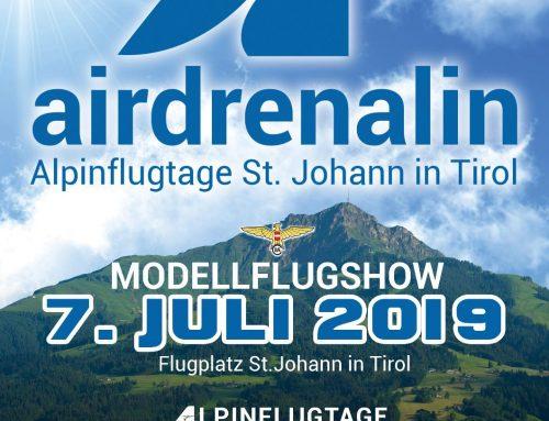 AIRDRENALIN 2019 – Alpinflugtage St. Johann in Tirol